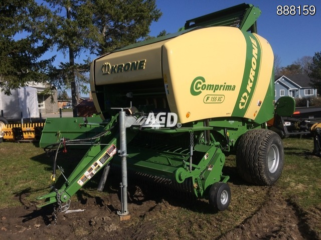 Image for article New 2016 Krone Comprima F155XC Round Baler